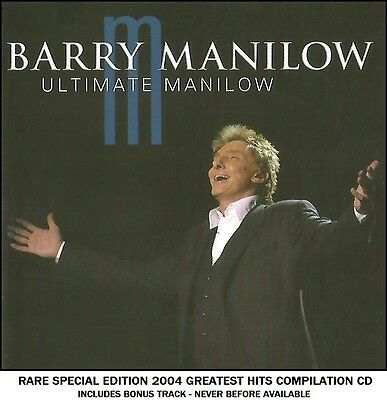Barry Manilow - The Very Best 20 Greatest Ultimate Hits Collection RARE 2004 CD
