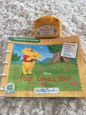 Leap Frog baby pooh mag dich Leapfrog