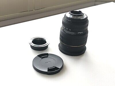 Sigma 24-70mm F2.8 Nikon Fit with Canon EF Adapter