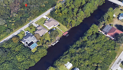 Beautiful Port Charlotte Fl Building Lot - Across From Saltwater Canal