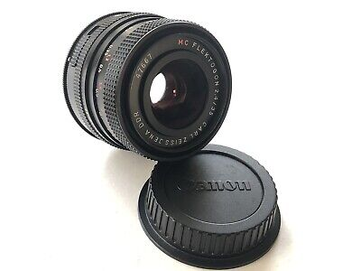 Carl Zeiss Jena Flektogon f2.4 35mm Lens (M42 fit) With Canon EF Mount Adapter