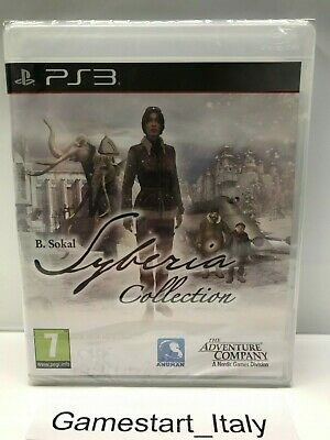 Syberia Complete Collection - Sony Ps3 Pal Nuovo Sigillato - New Sealed