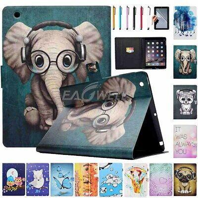 For Apple iPad 2nd Gen/iPad 3rd Gen/iPad 4th Gen Leather Smart Cover Stand Case