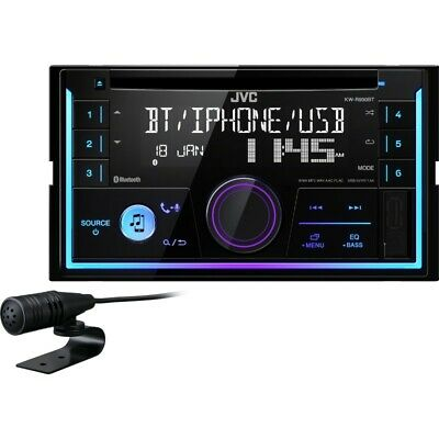 Autoradio double DIN CD/MP3/USB/Bluetooth JVC KW-R930BT