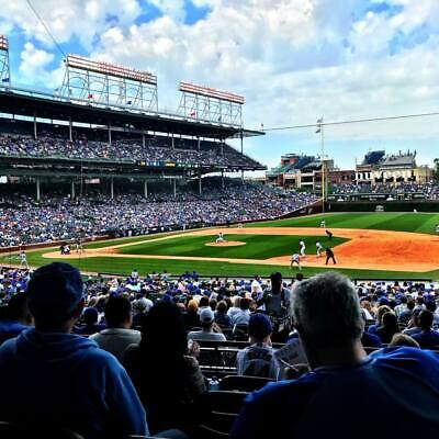 2 tickets - Phillies @ Cubs Wrigley Field 05/22/2019 - no obstruction