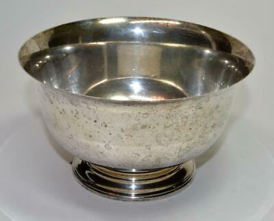 Vintage Towle Silversmiths sterling silver footed bowl 179 gram