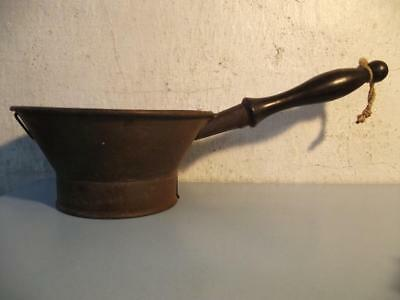 19th Century English Tin Metal Stainer Kitchenalia Kitchen Tinware Sieve