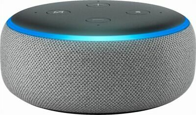 NEW Amazon Echo Dot 3rd Generation w/ Alexa Voice Media Device - Heather Grey