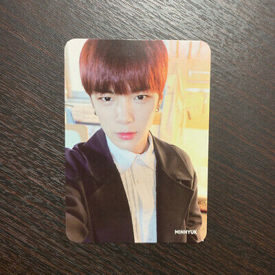 Monsta X Minhyuk WORLD TOUR THE CONNECT 2018 official photocard album PC ONLY