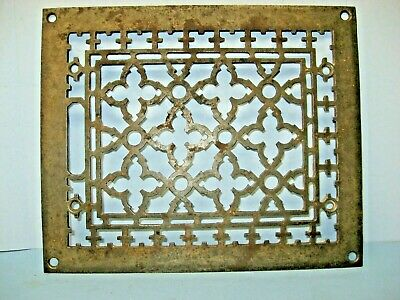 Antique Cast Iron Heat Register Grate, Tuttle & Bailey ca 1880, FREE Shipping