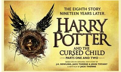 Tickets Harry Potter and the Cursed Child 28/03/19 - 29/03/- London Part 1 and 2