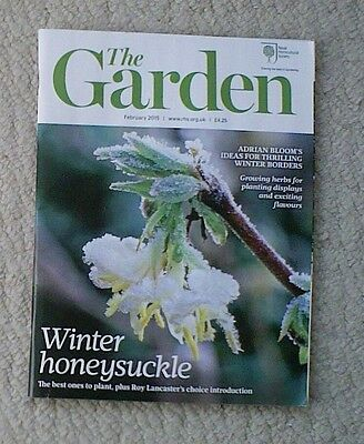 'The Garden' - February 2015 issue - RHS Royal Horticultural Society magazine