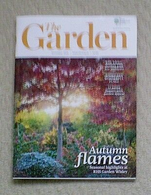 'The Garden' - November 2016 issue - RHS Royal Horticultural Society magazine
