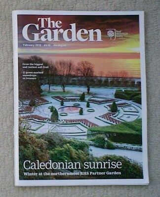 'The Garden' - February 2018 issue - RHS Royal Horticultural Society magazine