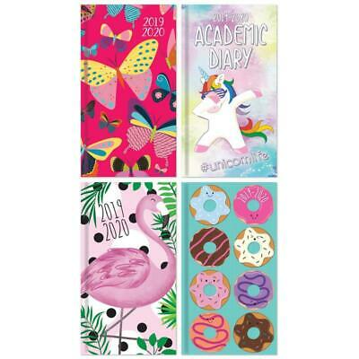 2019 - 2020 A5 Academic Diary Organiser Week To View Mid Year Book Journal Cute