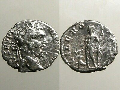 SEPTIMIUS SEVERUS SILVER DENARIUS___Liber & Panther_____ADDED STABILITY TO ROME