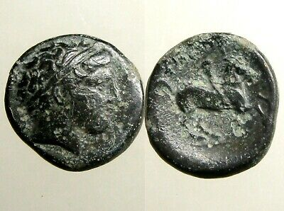 PHILIP II MACEDONIA AE18___3 Time Olympic Champion___FATHER OF ALEXANDER - GREAT