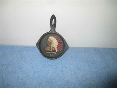 Vintage Cast Iron Souvenir Frying Pan Skillet Mohawk Trail Massachusetts