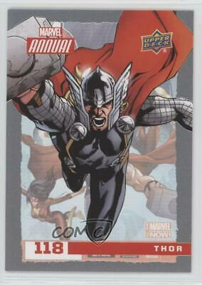 2016 Upper Deck Marvel Annual #118 SP Thor Non-Sports Card 4et