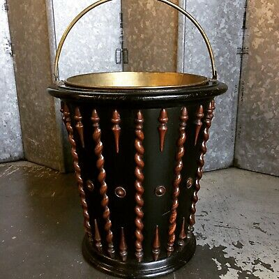 Antique dutch Peat Bucket Circa 1880's