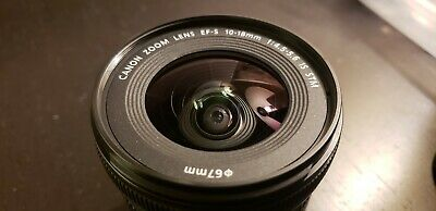 Canon EF-S 10-18mm F/4.5-5.6 IS STM Lens  + German B and W Lens protector