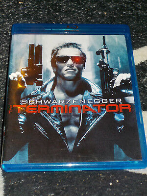 The Terminator Blu Ray Arnold Schwarzenegger James Cameron Free Shipping