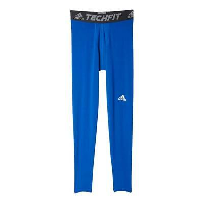 fb019eb1359b5 ADIDAS MEN'S TECHFIT Base 3/4 Length Tights; Royal Blue; 2XL