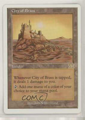 1999 Magic: The Gathering - Core Set: 6th Edition #321 City of Brass Card n0n