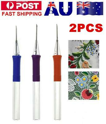 DIY Embroidery Pen Cross-Stitch Embroidery Needle Weaving Tool Punch Needle Craf