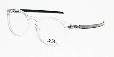 6783521145a262 NEW Authentic Oakley Pitchman R Carbon OX8149-0350 Clear Eyeglasses 50mm