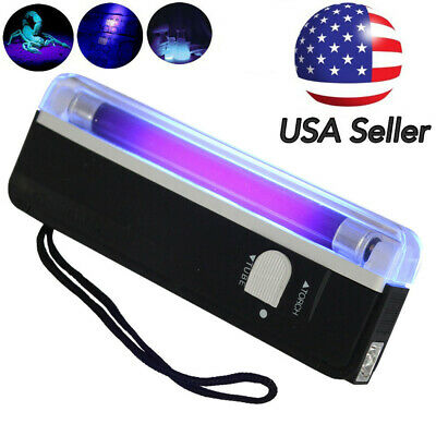 Handheld LED UV Ultra Violet Flashlight Inspection Lamp Light Torch Blacklight