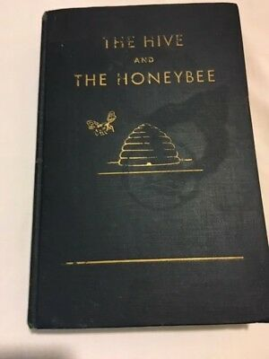 "Vintage Bee Keeping Book  ""the Hive And The Honeybee"" 1946"