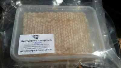 FRESH raw organic honeycomb cut straight from the hive. Qld. 23rd January 2019