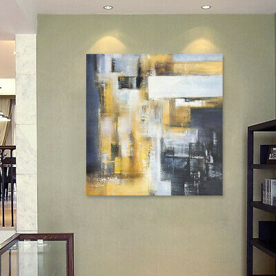 Modern Hand Painted Abstract Oil Painting Home Decor On Canvas Art Wall Framed