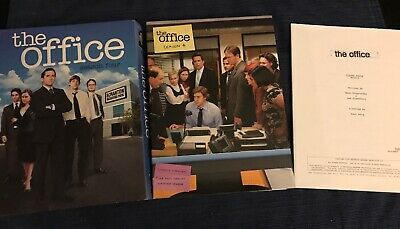 The Office: Season 4 Exclusive 5-disc DVD with Bonus Script