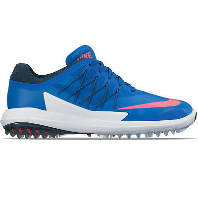 best loved b1722 8ee51 Nike Lunar Control Vapor Golf Shoes Blue White Pink Spikeless 849971-401  11.5M