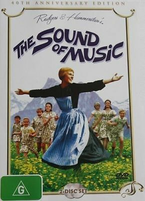 The Sound Of Music:- 40Th Anniversary Edition – 2 Dvd Set, Julie Andrews