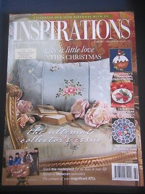 Inspirations Magazine Issue 60 -  2008 The Worlds Most Beautiful Embroidery