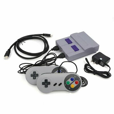 Classic SNES Mini Edition -  HD TV Game Built in 821 Games 8 Bits Kids Gift US