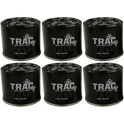 Six (6) Pack Fuel Filter For Trac John Deere JD FF3000 AT13387 AT17387 AT17387T