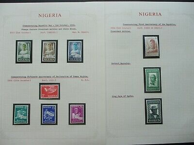 ESTATE: Nigeria Collection on Pages - Must Have!! Great Value (P868)