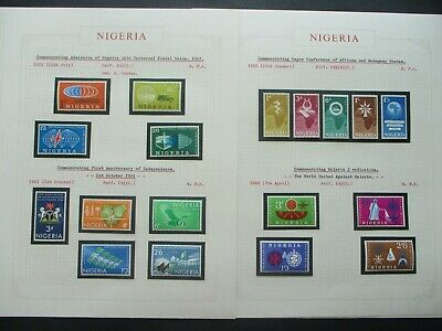 ESTATE: Nigeria Collection on Pages - Must Have!! Great Value (P869)