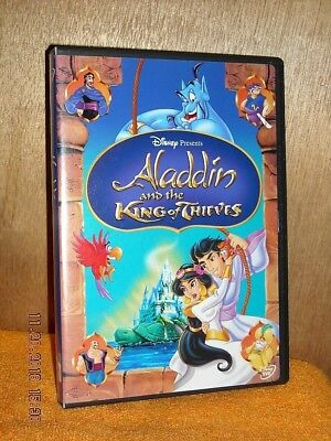 Aladdin and the King of Thieves (DVD, 2005) Scott Weinger, Robin Williams DISNEY