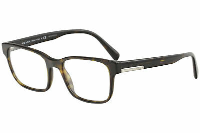 1b763212df New Prada Eyeglasses VPR06U VPR 06U 2AU 1O1 Havana Full Rim Optical Frame  54mm