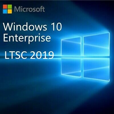 License Microsoft Windows 10 Enterprise LTSC 2019 32&64 Bit Genuine Key Code