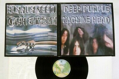 DEEP PURPLE MACHINE HEAD WARNER P-10130W Japan VINYL LP