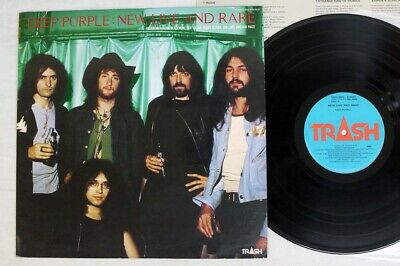 DEEP PURPLE NEW,LIVE & RARE TRASH TRSH-2009 Japan VINYL LP