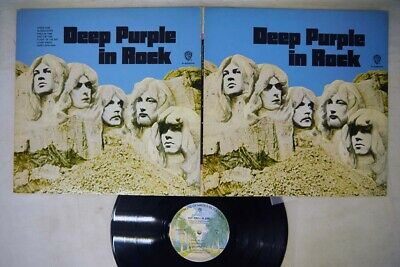 DEEP PURPLE IN ROCK WERNER P-8020W Japan VINYL LP
