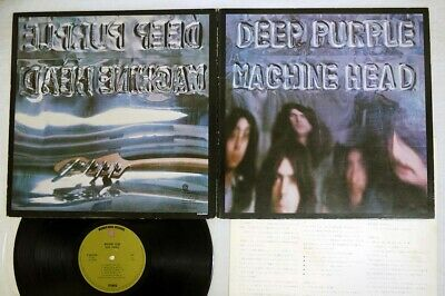 DEEP PURPLE MACHINE HEAD WARNER P-8224W Japan VINYL LP