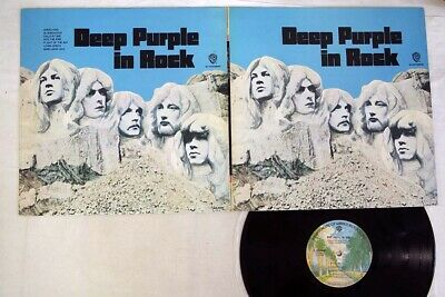 DEEP PURPLE IN ROCK WARNER P-10108W Japan VINYL LP